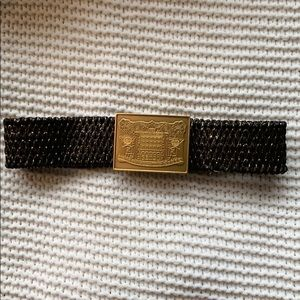 Metalic Fendi Belt